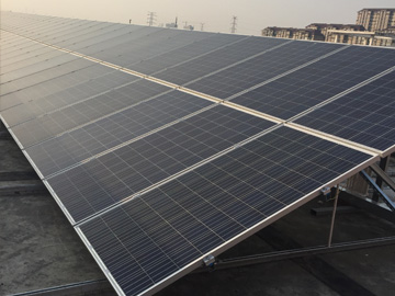 200KW Commercial Roof Project(Nantong City, Jiangsu Province)